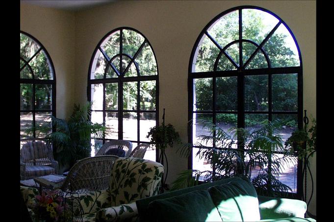 baies vitr es cintr es la forge. Black Bedroom Furniture Sets. Home Design Ideas